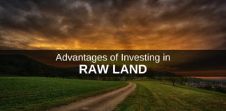 Advantages of investing in raw land