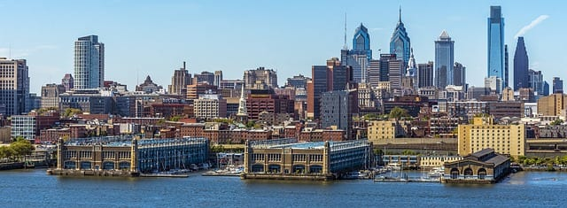 Panoramic view of Philadelphia, symbolizing expert tips for first-time homebuyers in Philadelphia.